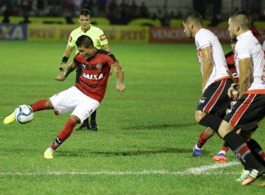 Vitória bate River-PI e larga na frente nas quartas de final do Nordestão