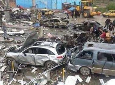Atentado suicida mata 15 pessoas em Bagdá horas antes da chegada da ONU