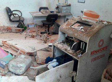 Quadrilha explode sala em posto de gasolina na BR-324 e rouba cofre