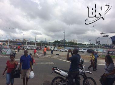 Protesto encerra e trânsito é liberado por manifestantes
