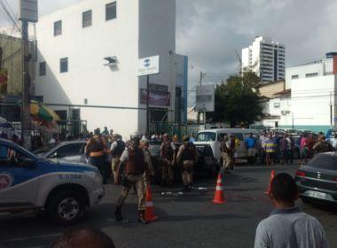 Troca de tiros envolvendo a polícia deixa um morto após roubo a loja em Brotas