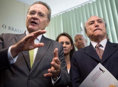Após vídeo com críticas a propostas do governo, Temer rompe com Renan