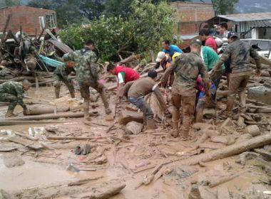 Chuvas e deslizamentos deixam mais de 250 mortos no sul da Colômbia