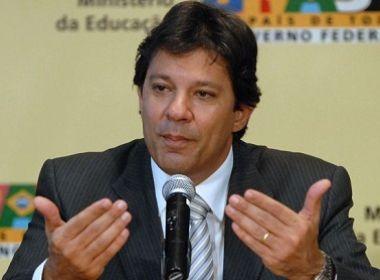 Haddad possui dívida de R$ 124 mil com PT por não pagamento da contribuição partidária