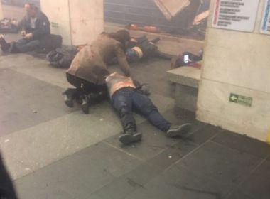 Explosão em metrô na Rússia nesta segunda deixa pelo menos dez mortos