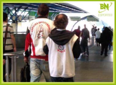São paulino ajudando corintiano cego é destaque na coluna Esportes