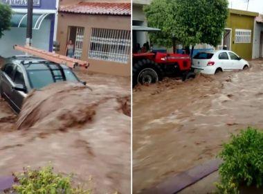 Policiais arrecadam donativos para população de Novo Triunfo após enchentes