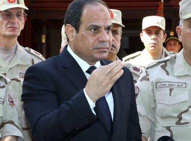 Presidente do Egito decreta estado de emergência de três meses após ataques
