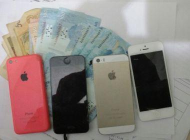 Polícia Civil desarticula desmanche clandestino de celulares iPhones