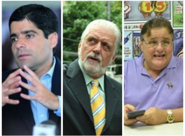 Pedidos de inquérito remetidos a instâncias iniciais incluem ACM Neto, Wagner e Geddel