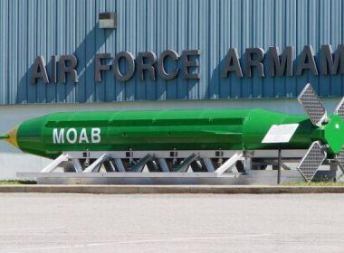 EUA lançam 'mãe de todas as bombas' em esconderijo do EI no Afeganistão
