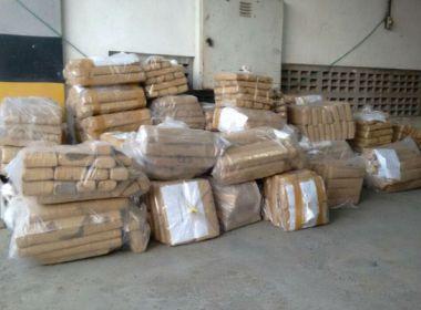Polícia incinera 5,5 toneladas de drogas; 0,5 tonelada de cocaína apreendidas em SSA