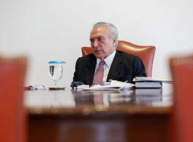 Temer confirma encontro, mas nega negociação de propina para o PMDB em 2010; veja vídeo