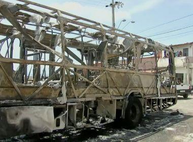Em um dia, Grande Fortaleza tem 22 ataques a ônibus e tiros contra delegacias