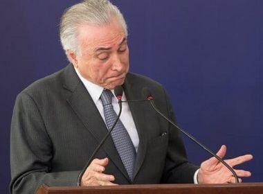 STF aceita ação para apurar demora em pedido de impeachment contra Temer
