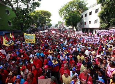Venezuela registra nove mortes em três semanas de atos contra e a favor de Maduro