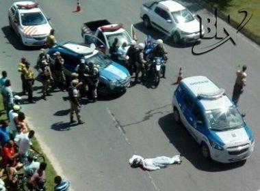 Acidente fatal em viaduto foi decorrente de perseguição policial, confirma PM