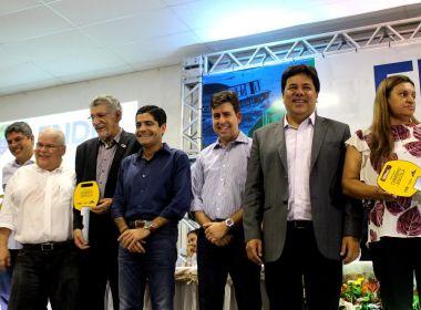 ACM Neto e Mendonça filho participam de evento sobre educação em Vitória da Conquista