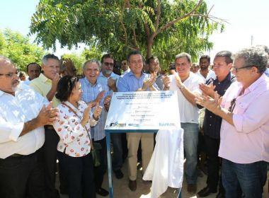 Governador entrega sistema de abastecimento de água na zona rural de Itaguaçu