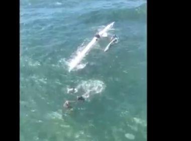 Naufrágios teriam ocorrido por conta das condições do mar, afirma Marinha