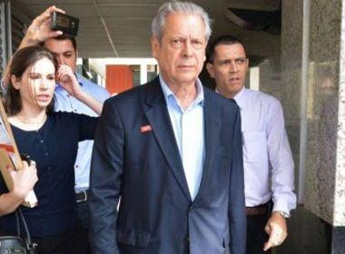 Por determinação de Moro, Dirceu vai cumprir prisão domiciliar com tornozeleira eletrônica