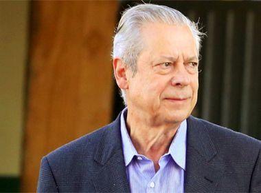 Pesquisa aponta que 67,8% dos brasileiros não concordam com libertação de José Dirceu