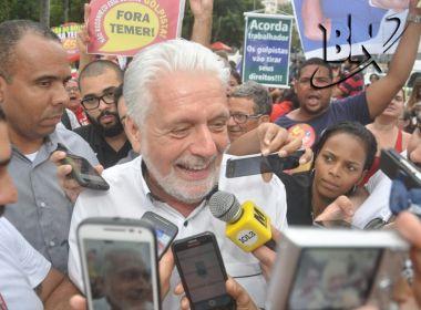 'Posso não ser candidato a nada', afirma Wagner sobre eleições de 2018