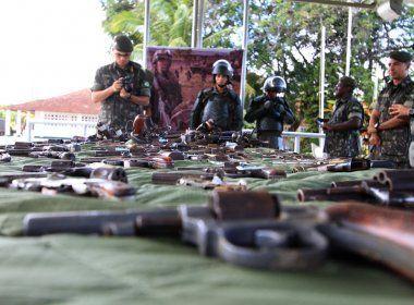 Policiais baianos podem ganhar isenção de ICMS na compra de armas