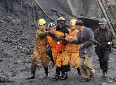 Sobe para 43 número de trabalhadores mortos com explosão de mina no Irã