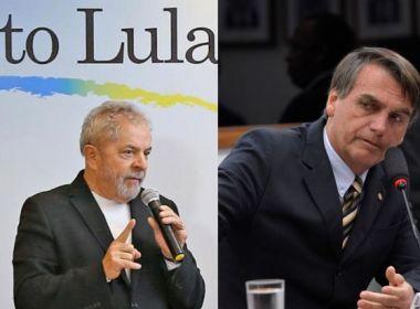 DataPoder360: Lula lidera e Bolsonaro fica em 2º; brancos e nulos chegam a 28%