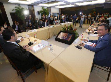 Encontro de governadores do Nordeste acontece nesta quinta em Salvador