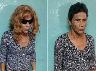 Estilo 'Nazaré Tedesco': Preso tenta fugir vestido de mulher e é desmascarado