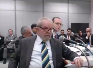 'Nunca houve intenção de comprar tríplex', afirma Lula em depoimento a Moro