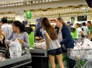 Vendas do varejo na Bahia caem 2,3% em março; acumulado no ano é de 4,9%