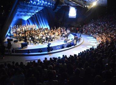 Artistas celebram a reinauguração da Concha Acústica e relembram 'encantamento'
