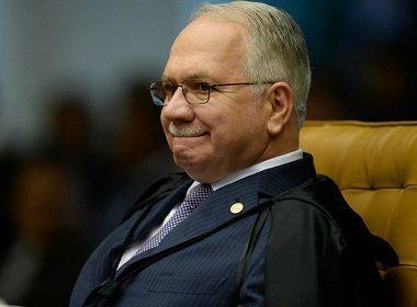Fachin mantém sigilo de delações que envolvem membros do Judiciário
