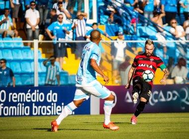 Fora de casa, Vitória empata sem gols com o Avaí