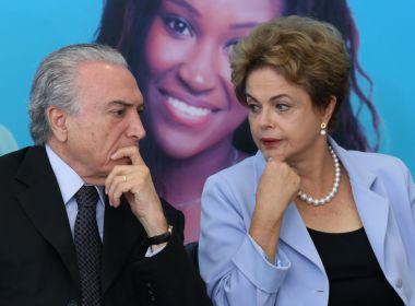 MPE pede cassação de chapa Dilma-Temer e inelegibilidade de Dilma por oito anos