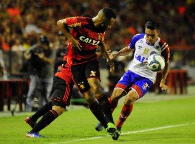 No primeiro jogo da final do Nordestão, Bahia empata com o Sport