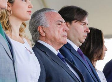 Deputado da base de Temer fala em renúncia do presidente: 'Gesto de grandeza'