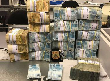 Polícia Federal apreende R$ 2 milhões como parte da Operação Patmos