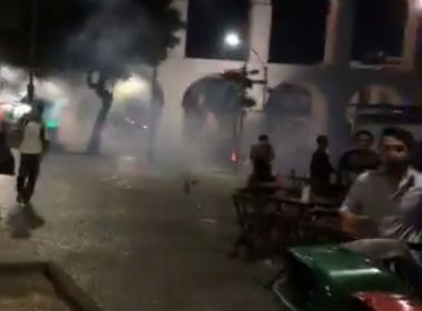 Protesto contra Temer termina em confusão entre manifestantes e PMs no Rio
