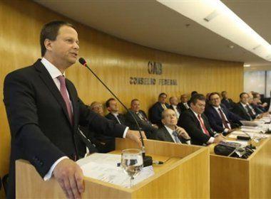 OAB pede posicionamento de seccionais para decidir sobre impeachment de Temer