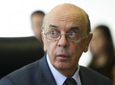 Em ligação, Serra pede que Aécio converse com Temer para derrubar ministro da Justiça