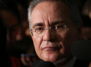 Renan diz que crise é 'muito grave' e sugere busca de 'novo consenso'
