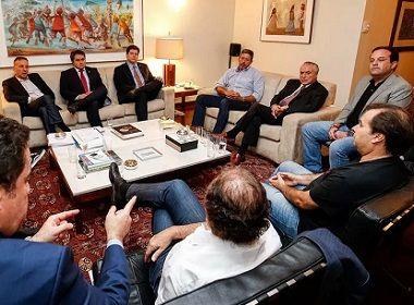 Temer se reúne em jantar com líderes da base aliada na casa de Rodrigo Maia