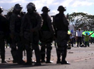 MANIFESTAÇÃO & VIOLENCIA: TEMER REVOGA DECRETO DE USO DAS FORÇAS ARMADAS EM BRASILIA