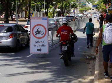 Credenciamento de mototaxistas em Salvador começa na próxima segunda-feira