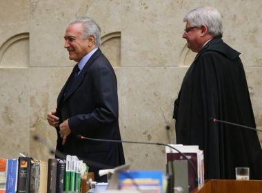 Planalto envia à PGR dados sobre encontro fora da agenda entre Temer e Janot