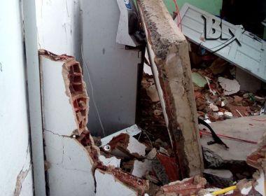 Campinas de Pirajá: Cofre em posto é alvo de duas explosões em tentativa de roubo